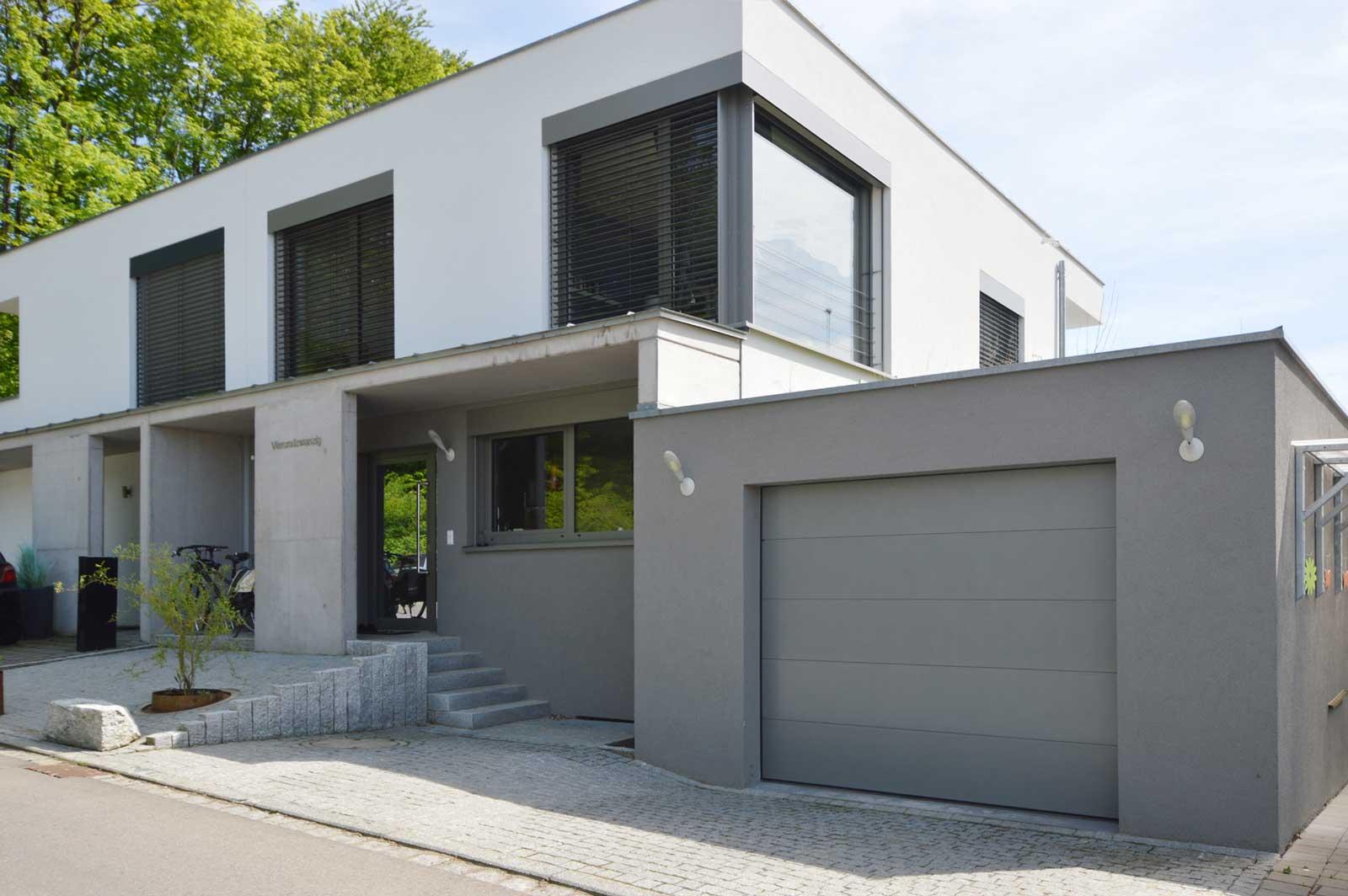neubau doppelhaus in l rrach stetten architekturb ro herzog. Black Bedroom Furniture Sets. Home Design Ideas