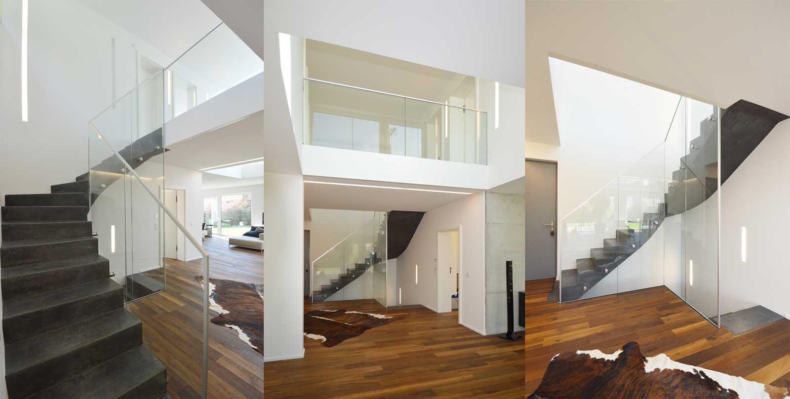 Einfamilienhaus neubau mit doppelgarage  Einfamilienhaus mit Doppelgarage, Auf Eggen - Architekturbüro Herzog