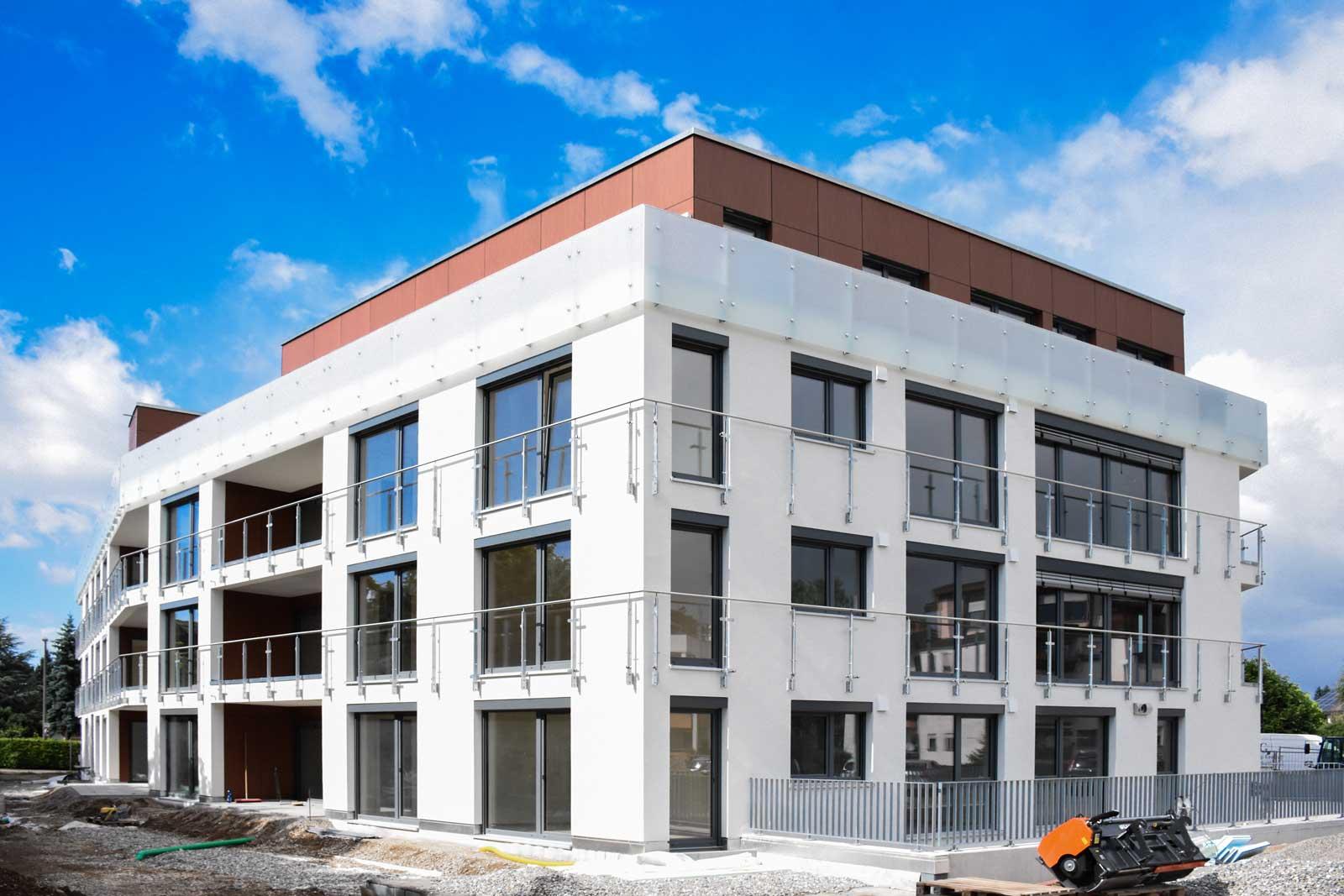 Neubau mehrfamilienhaus in efringen kirchen for Mehrfamilienhaus neubau