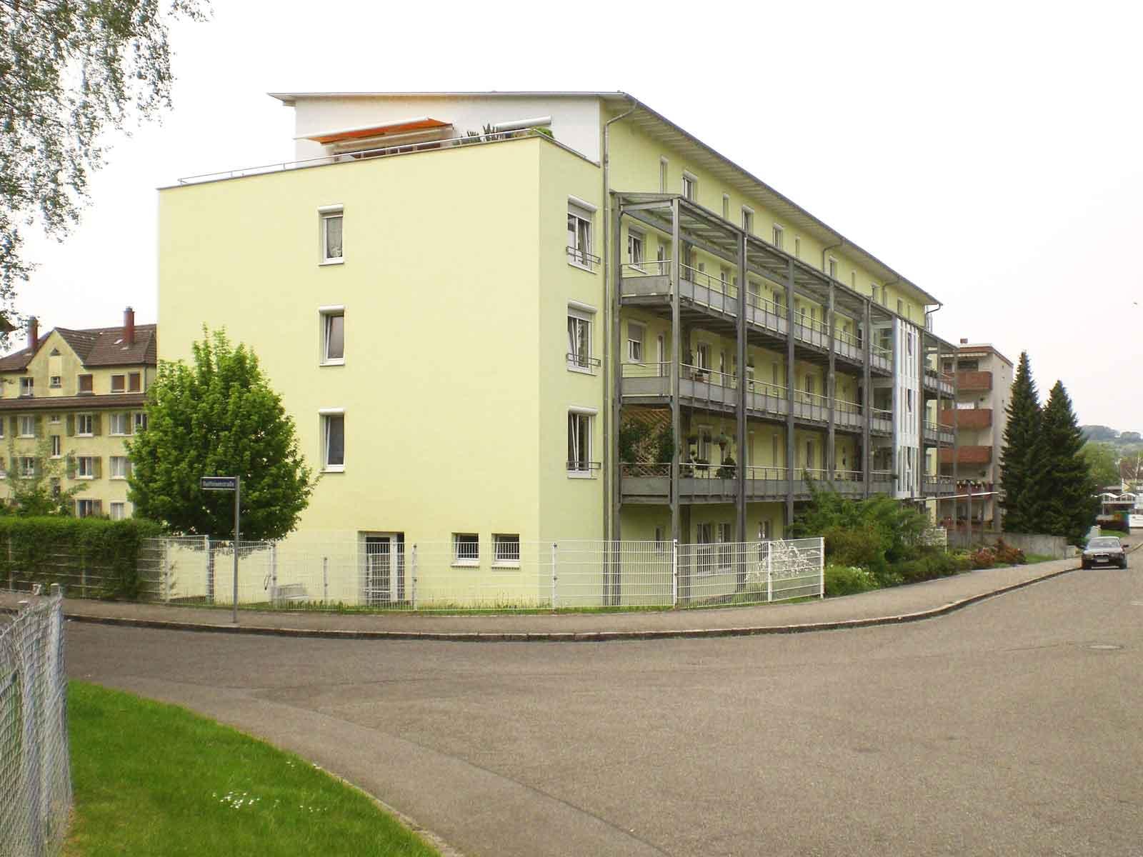 Neubau Mehrfamilienhaus in Raiffeisenstrasse, Lörrach ...